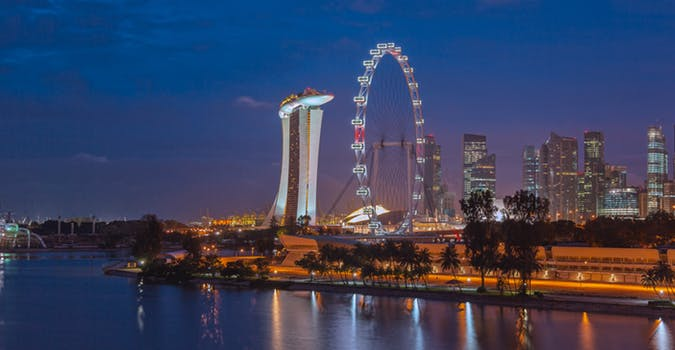 singapore's location for global maritime trade