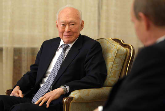 Prime Minister Lee Kuan Yew