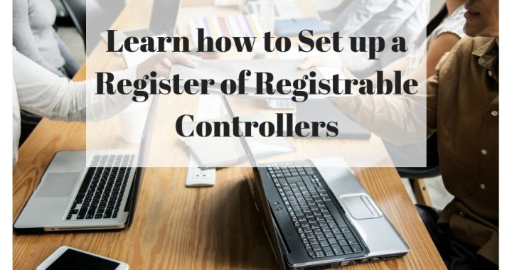 Set up Registrable Controllers