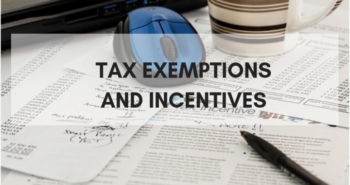 Tax Exemptions and Incentives