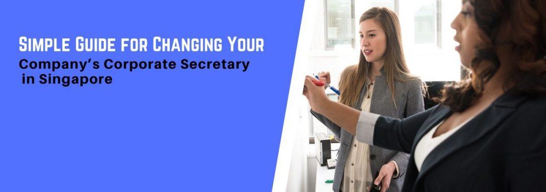changing company secretary