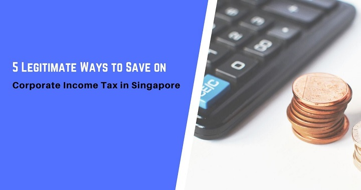 save on corporate income tax