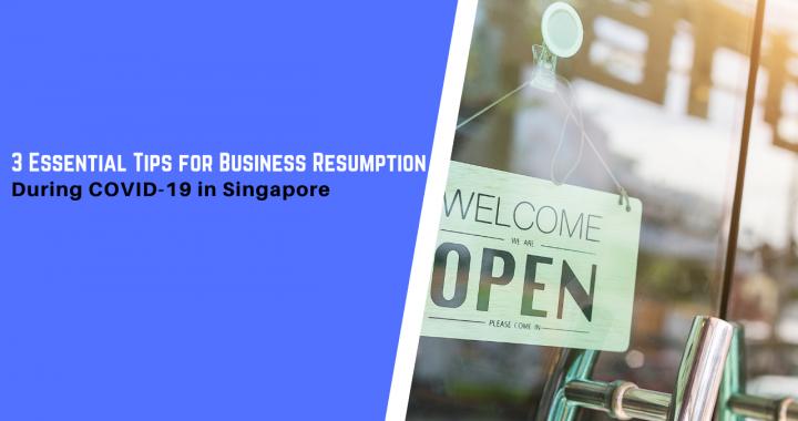 Business Resumption Singapore